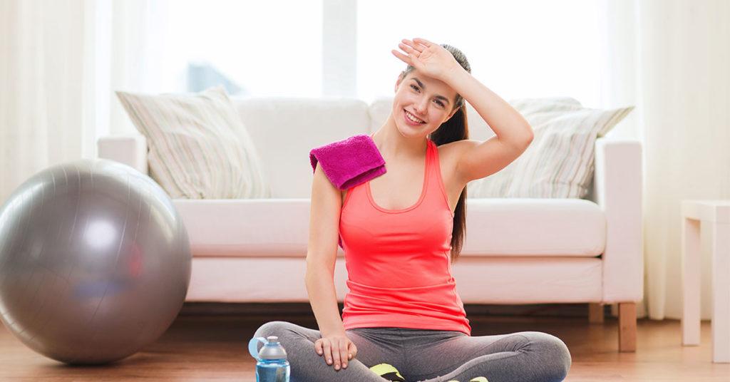 Hacer ejercicio te puede hacer feliz.