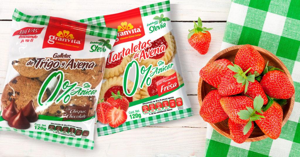 Imagen de Tartaletas de Avena 0% Sin Azúcar y Galletas de Avena y Trigo con Chispas de Chocolate