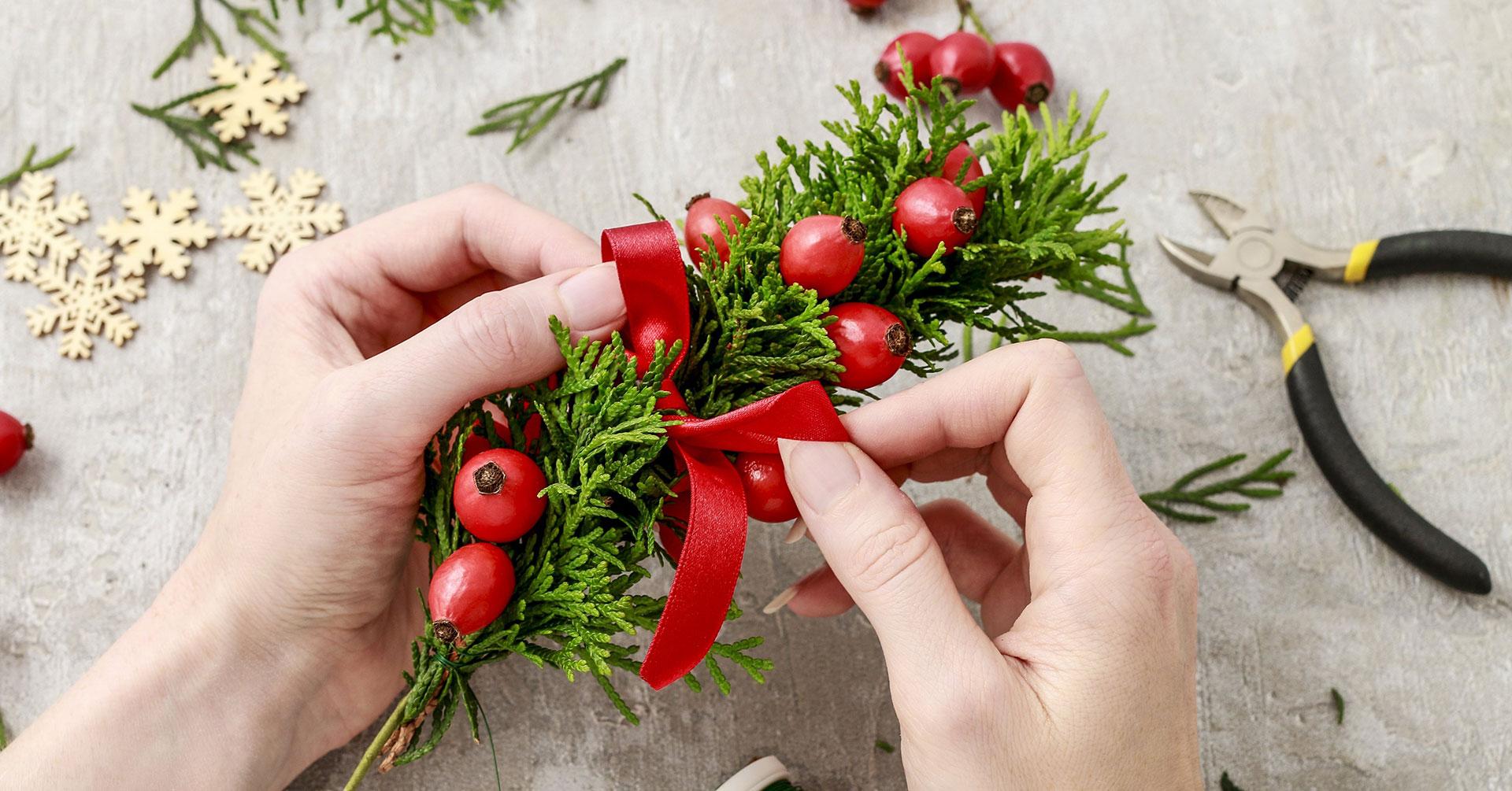 Adornos navideños que puedes hacer con poco presupuesto