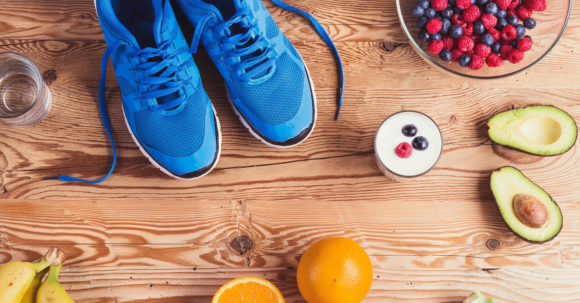 Los alimentos que debes comer para correr un medio maratón