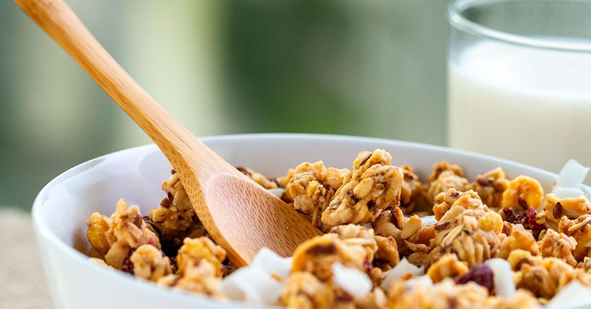 Beneficios de la granola para la salud