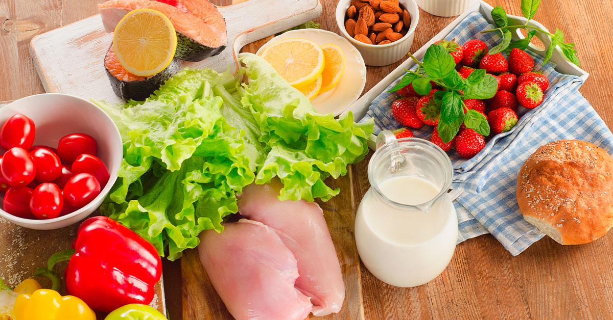Una alimentación saludable debe ser balanceada.