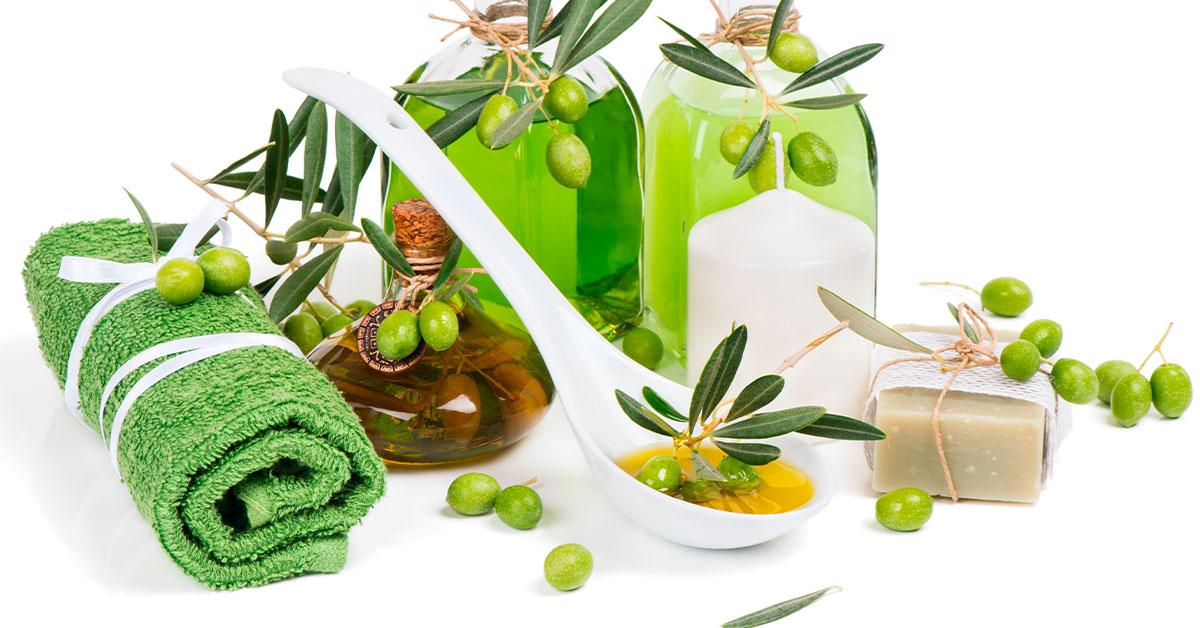 Pedicure casero con aceite de oliva