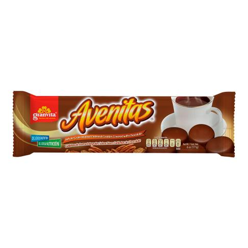 Avenitas en tubo Sabor Nuez Cubiertas de Chocolate 171 g