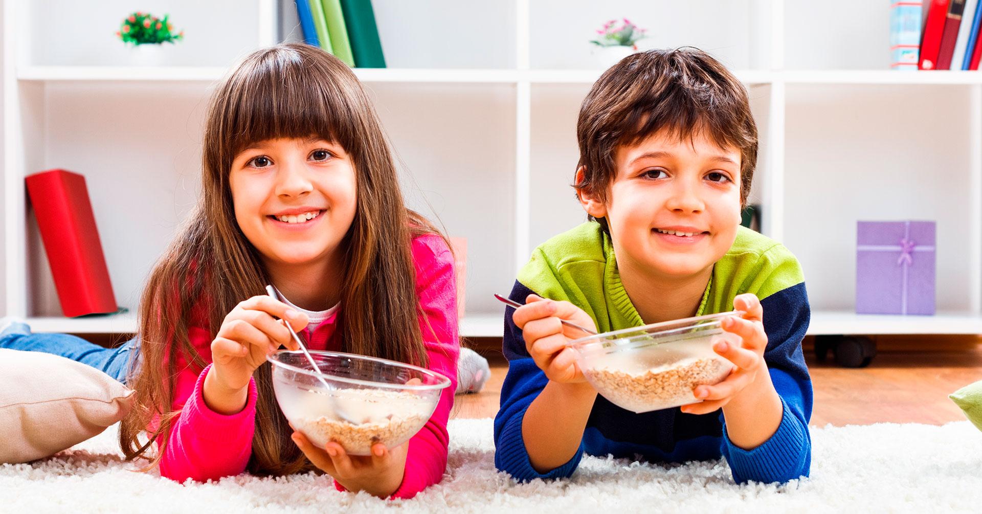 Razones para incluir la avena en la alimentación de los niños