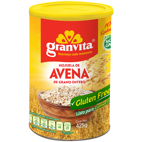 Avena Gluten Free en bote 425 g