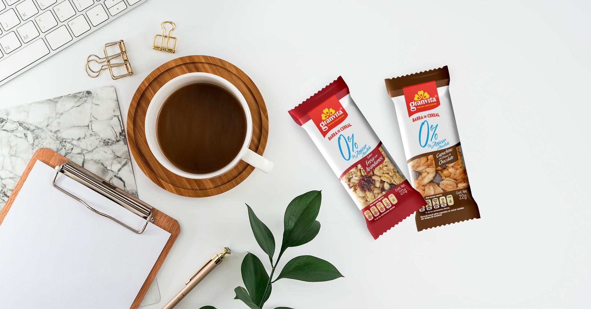 El snack ideal para tu home office: Barritas de Avena Granvita