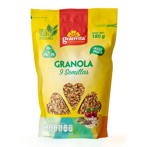 Granola 9 semillas 180 g