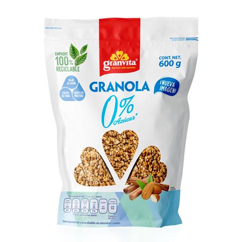 Granola 0 % Azúcar* 600 g