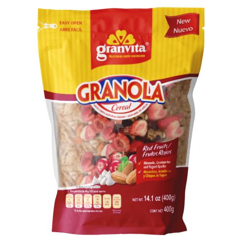 Granola Frutos Rojos 400 g