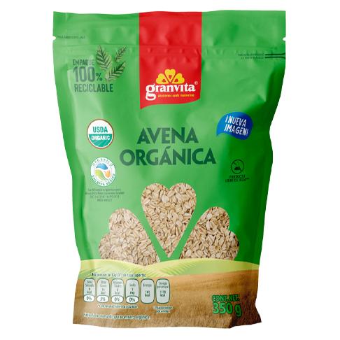 Avena Orgánica Granvita 350 g