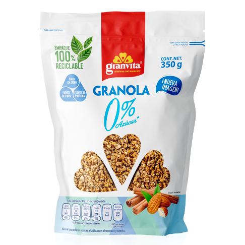 Granola 0 % Azúcar* 350 g