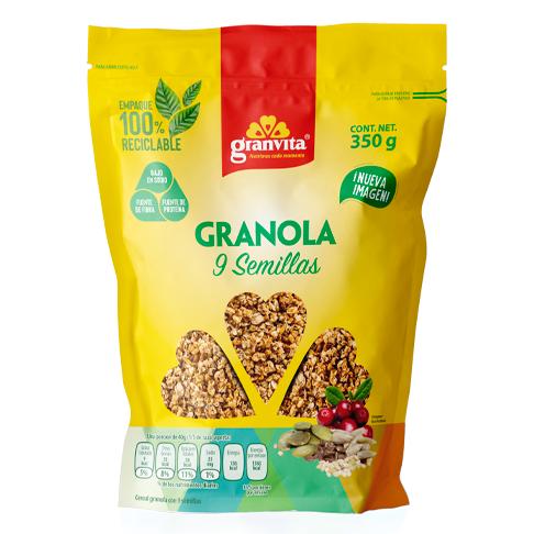 Granola 9 Semillas 350 g