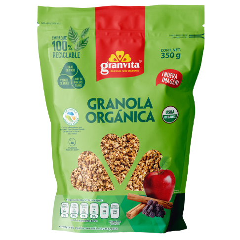 Granola Orgánica 350 g