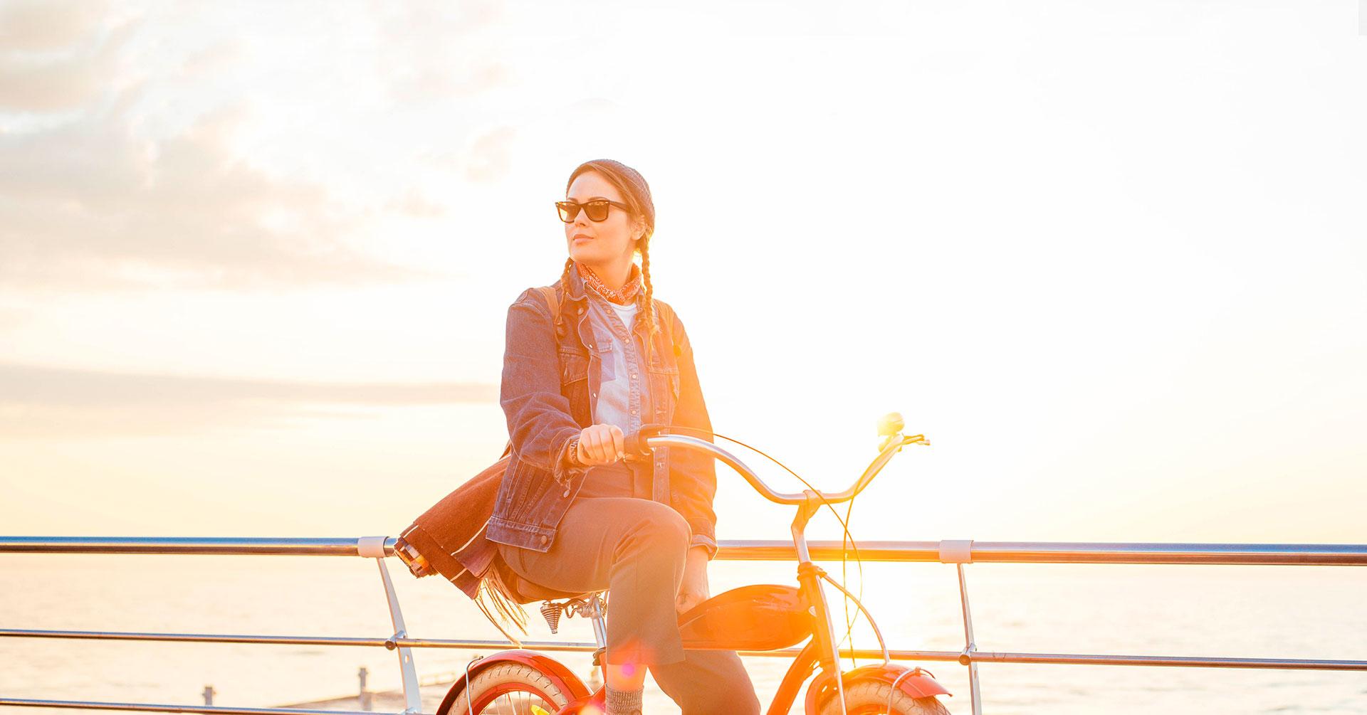 Los beneficios de andar en bicicleta que te harán amarla