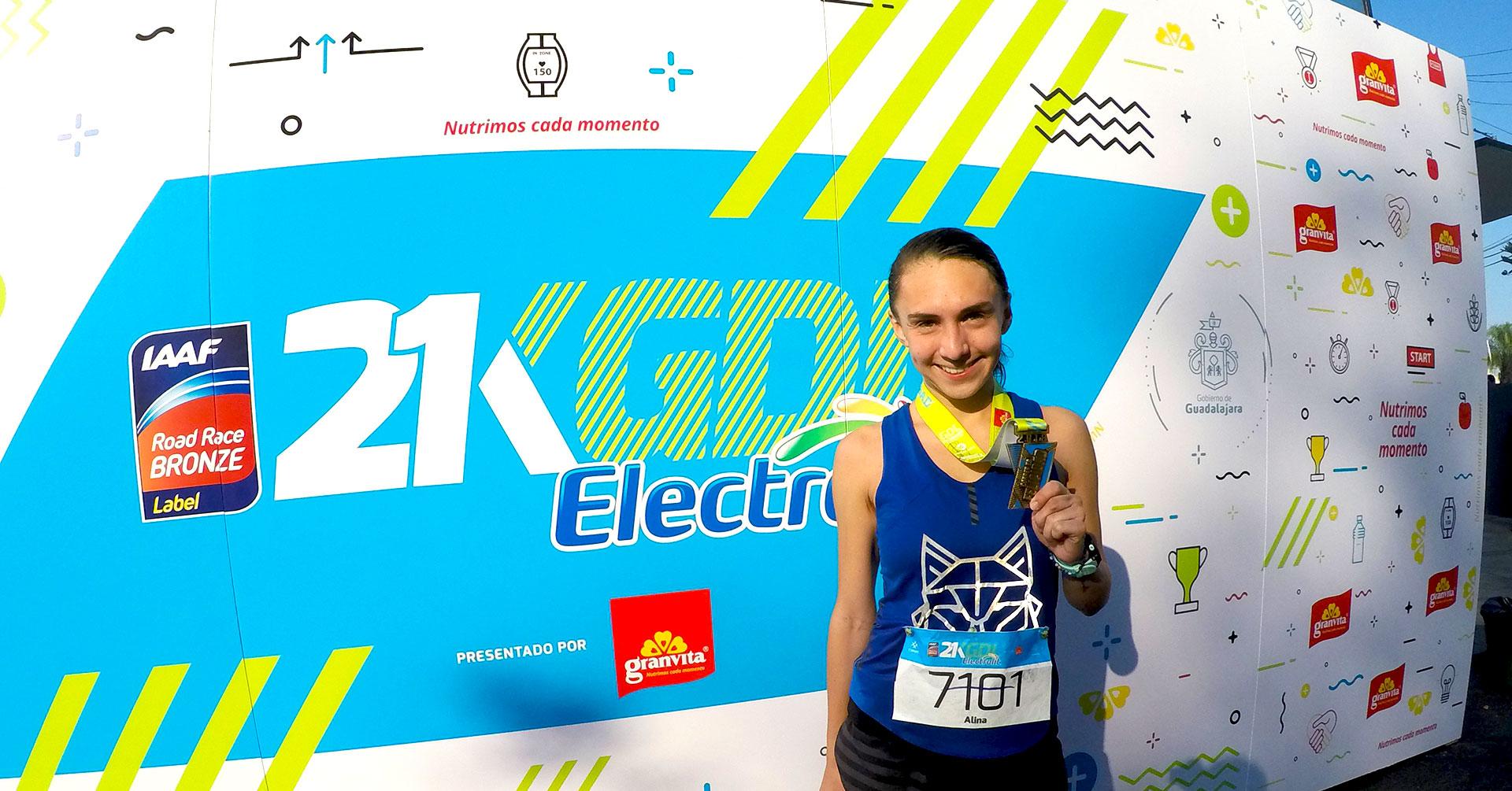 Juntos por la actividad física y una vida saludable en el #21kElectrolitGDL