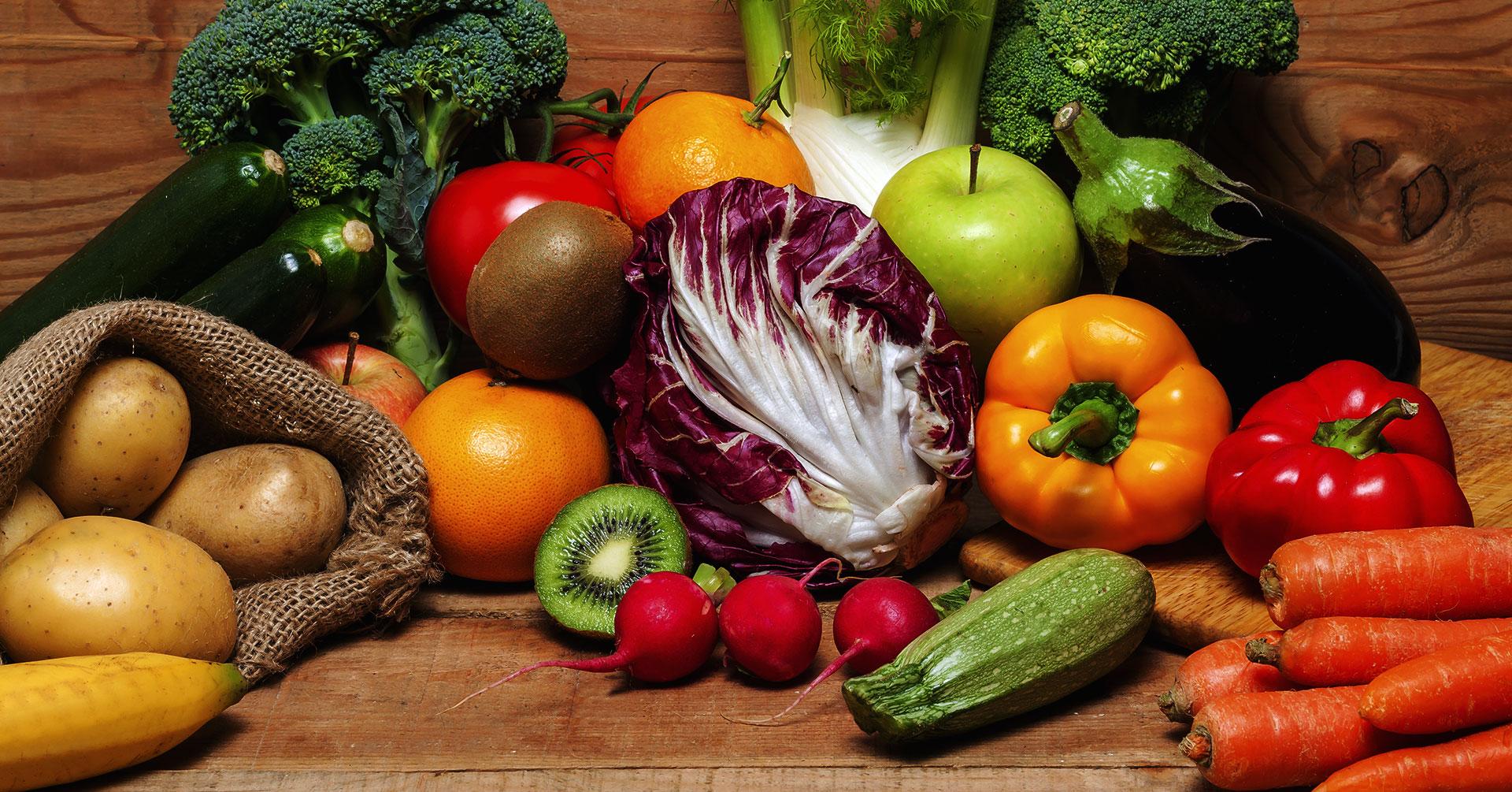 La importancia del color en las frutas y verduras