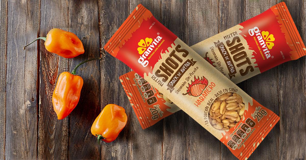 snacks granvita sabor habanero
