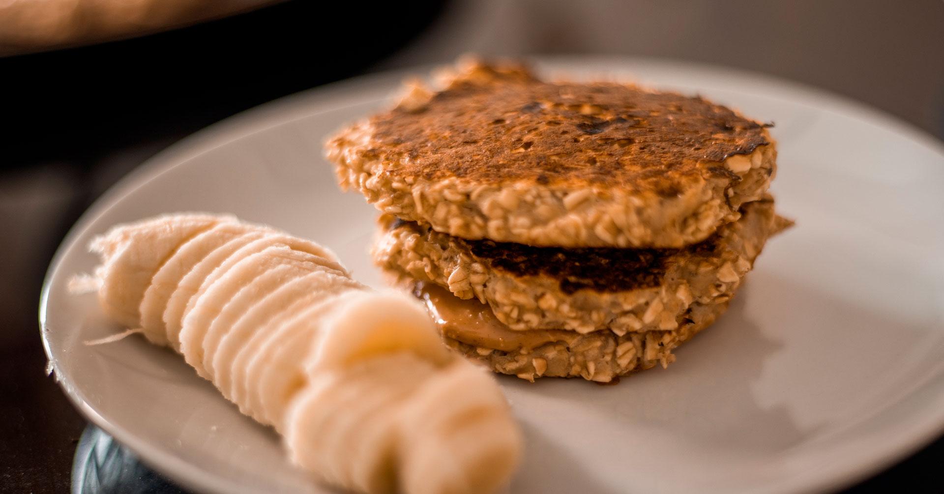 Tortitas dulces de avena, ideales para el desayuno