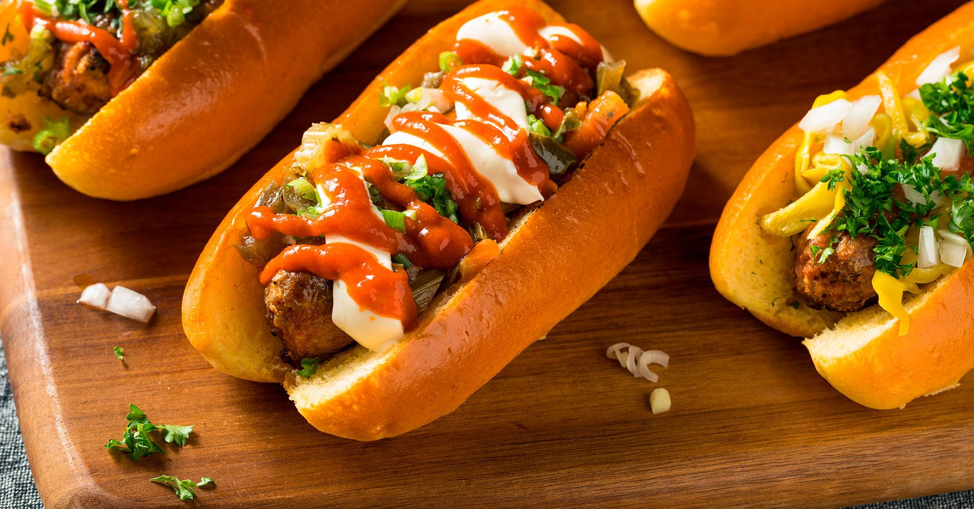¿Cómo hacer hot dogs veganos con avena?