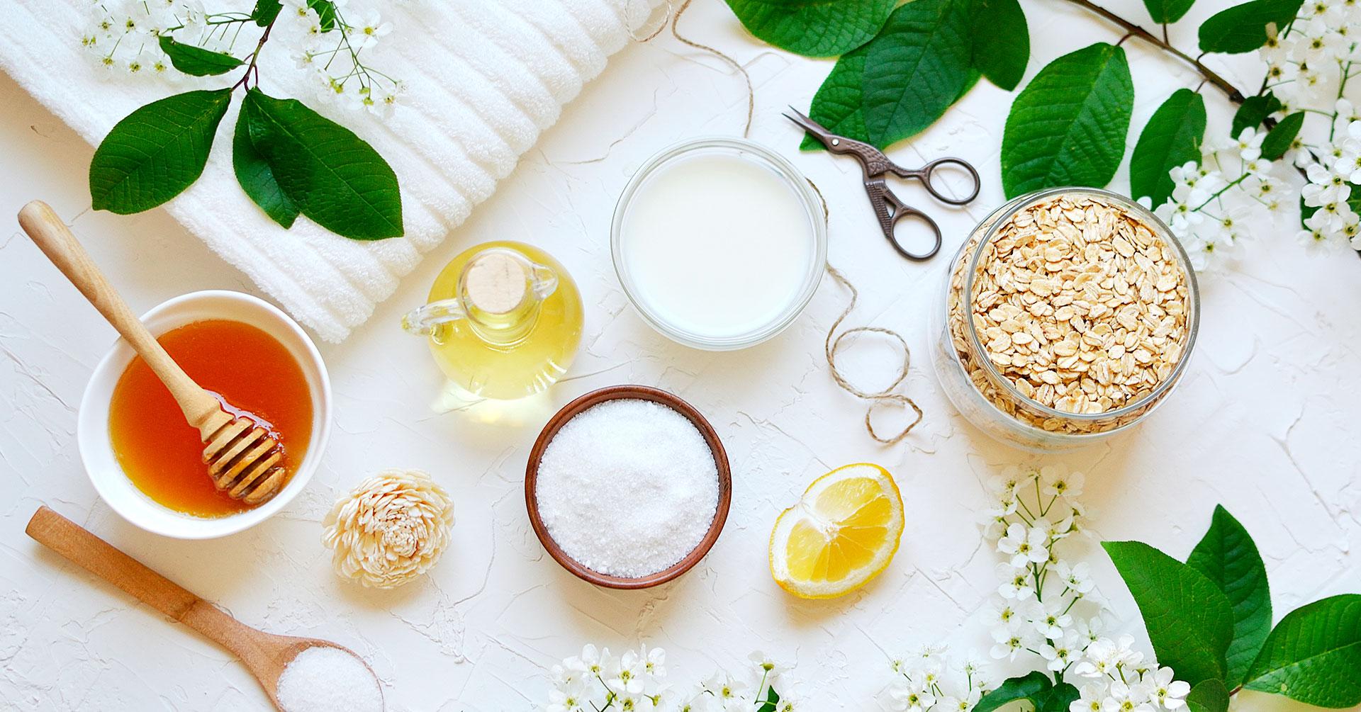 5 ingredientes naturales para una mejor exfoliación de tu piel