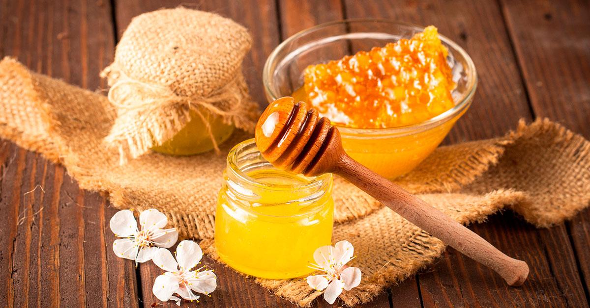 Miel para exfoliar la piel.