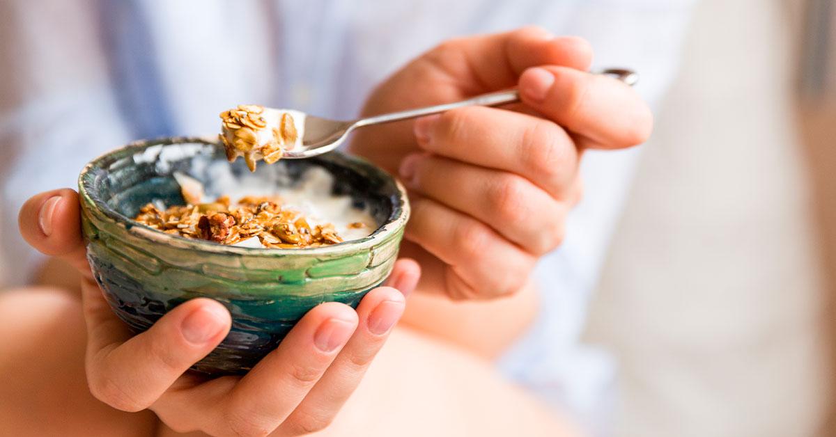 La granola te produce saciedad