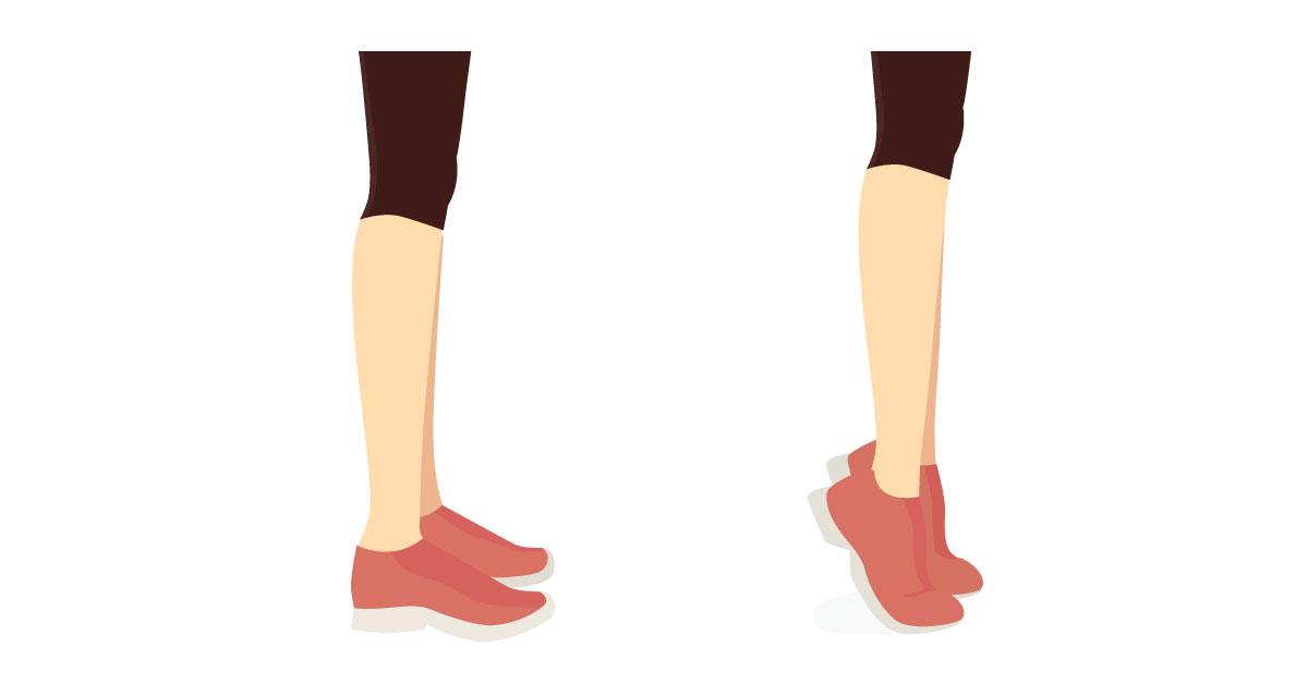 Ejercicio en casa para piernas 1.