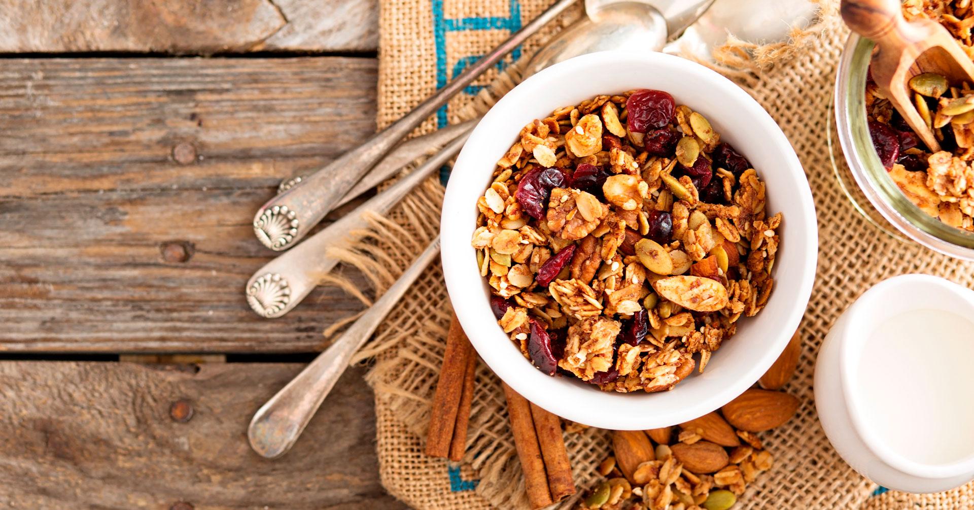 Granola, el cereal que debes incluir en tu alimentación