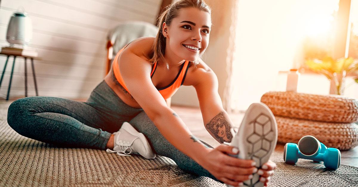 Practica algún ejercicio que te guste