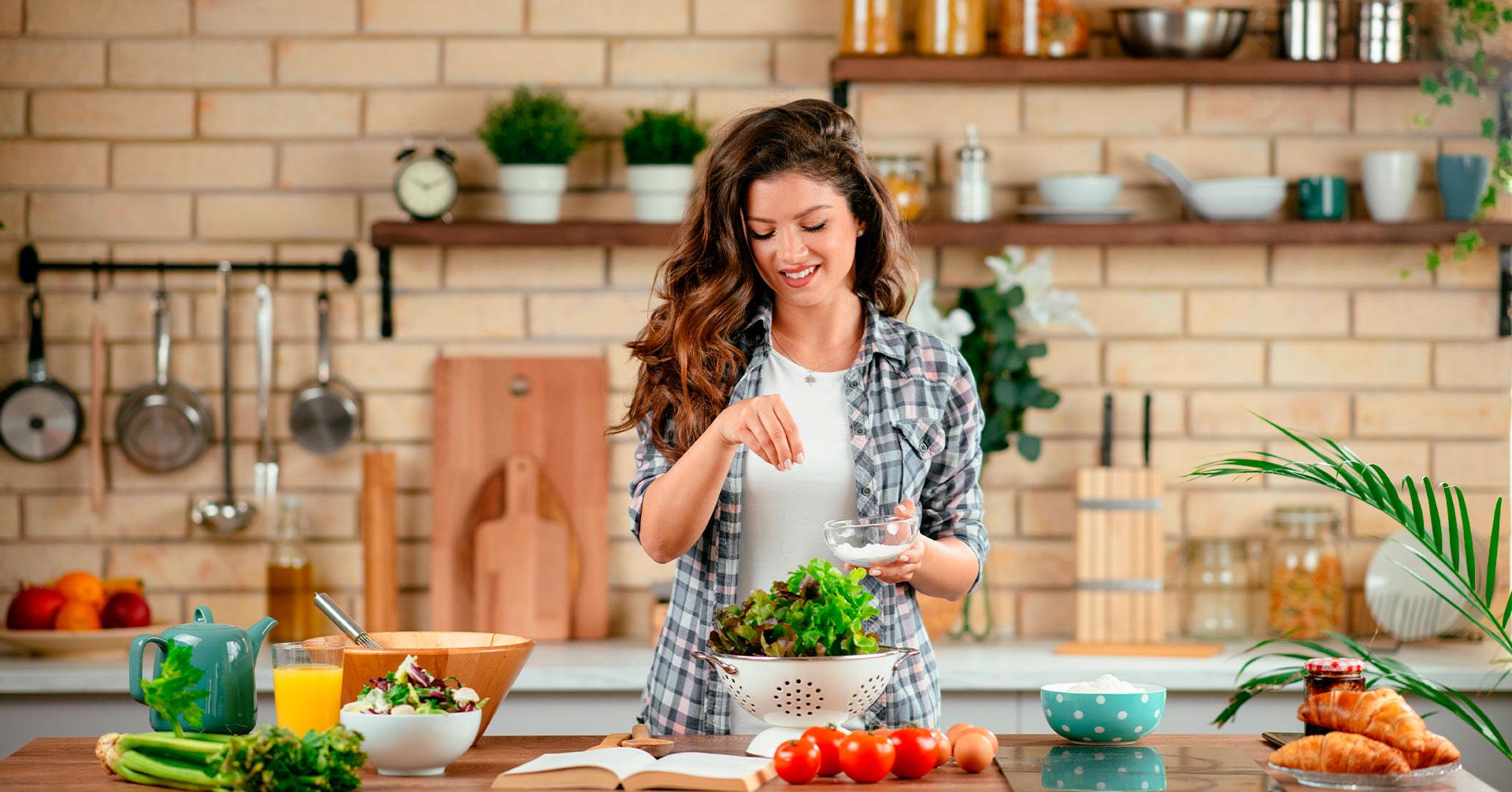Logra una vida saludable comiendo sano y siguiendo estos tips