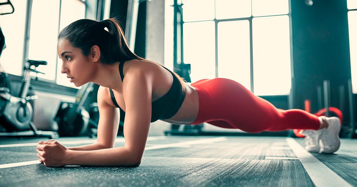 Rutina de ejercicios en casa para mujeres: tabla