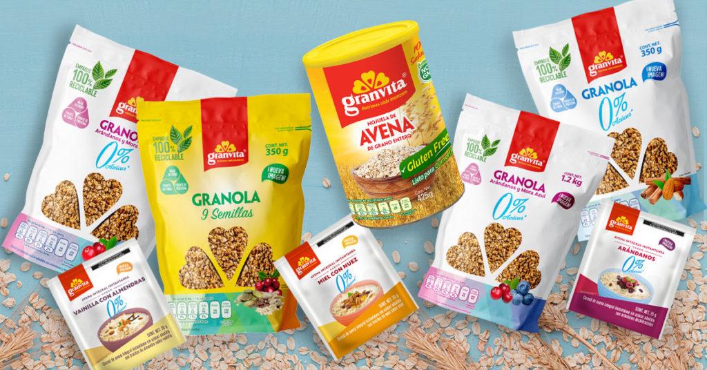 Productos Granvita con los que puedes unirte a Conexión Saludable