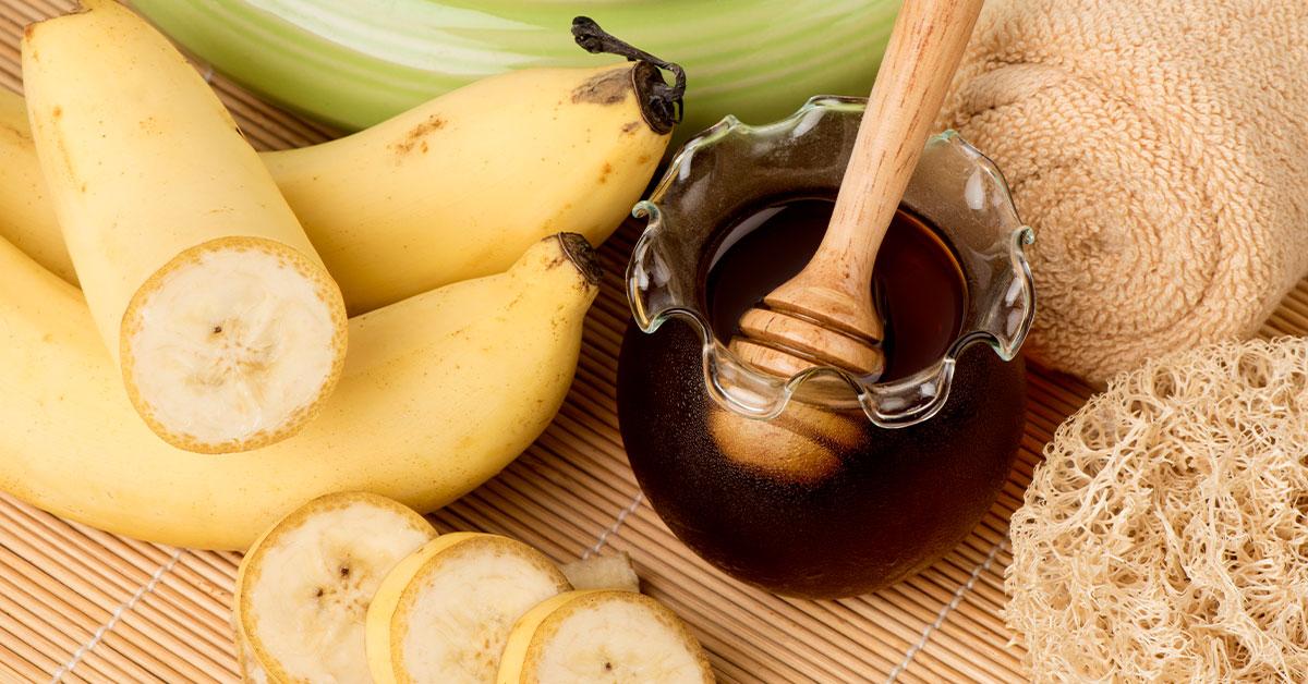 Miel con plátano