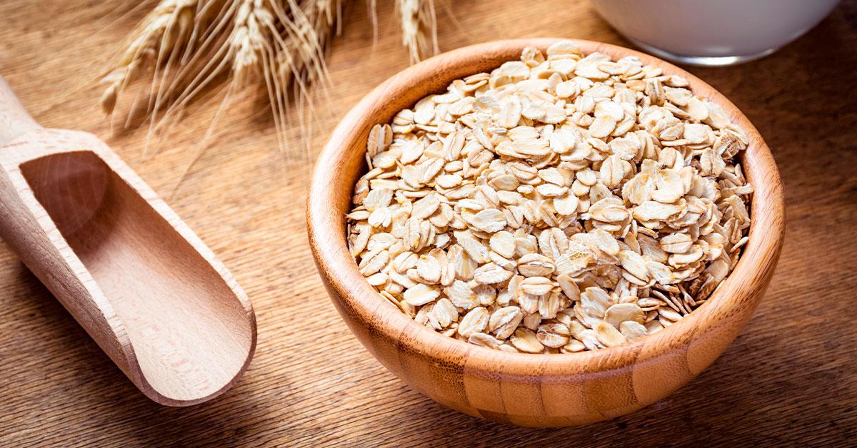 Beneficio de la avena: es buena fuente de fibra