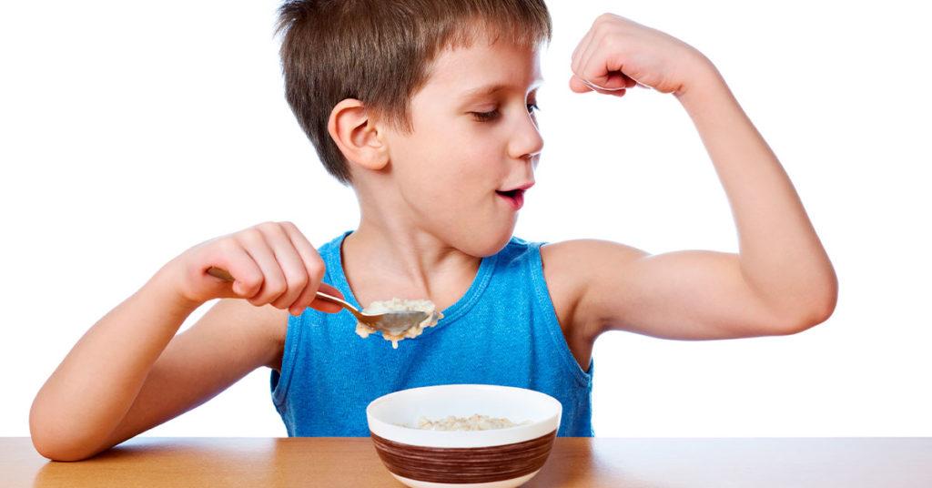 Imagen que ilustra los beneficios de la avena para los músculos.