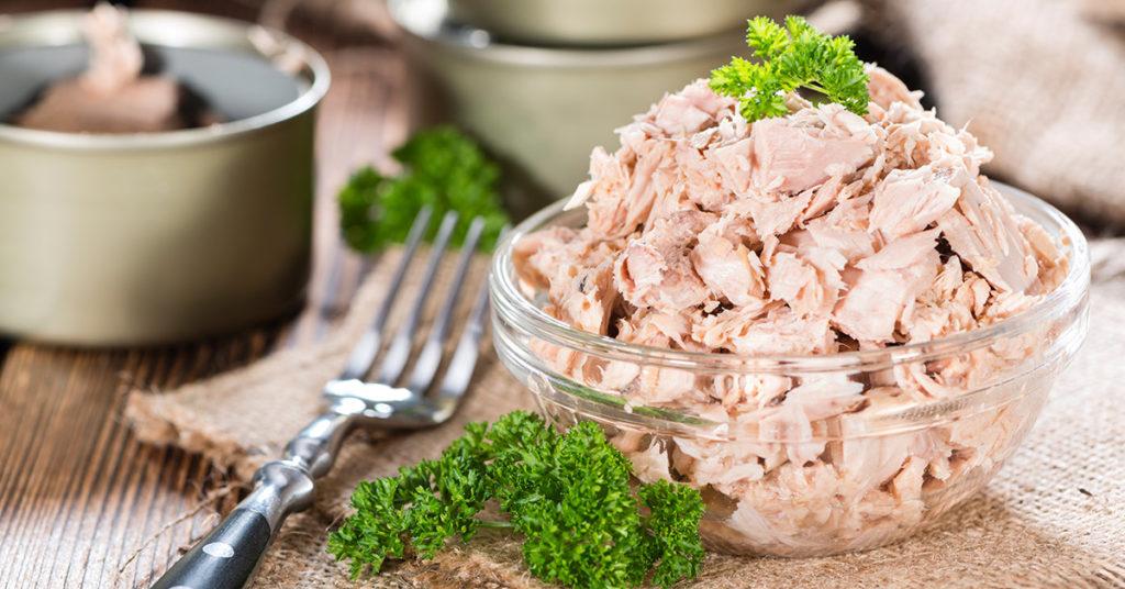 Atún, un alimento nutritivo presente en casi todos los hogares.
