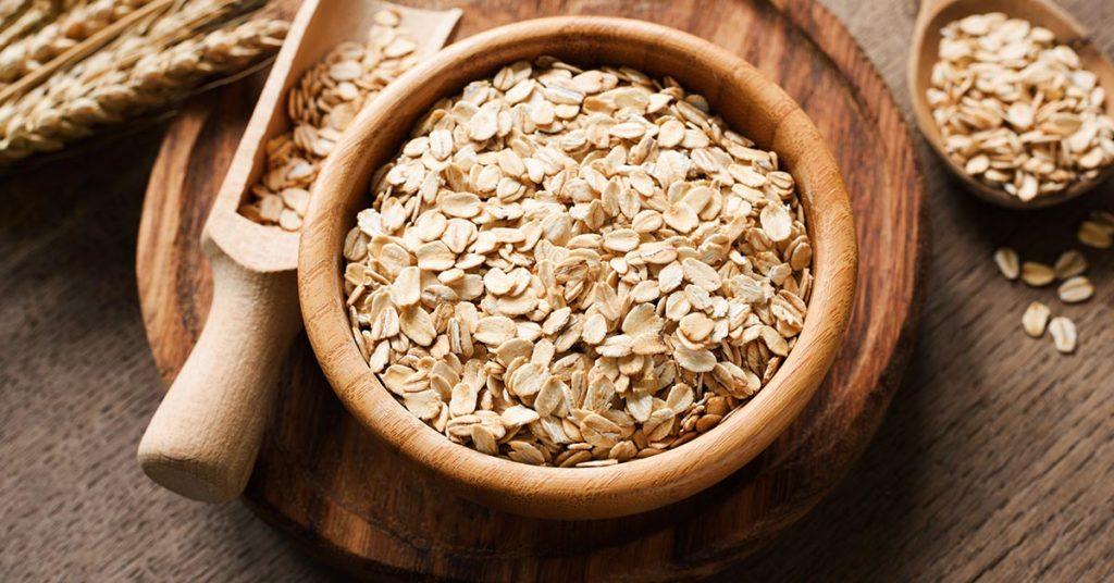 Imagen de avena, un alimento nutritivo que tiene muchos nutrientes.