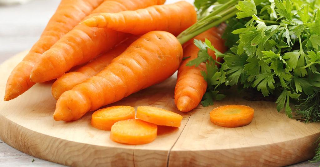 Imagen de zanahorias, un alimento nutritivo disponible casi todo el año.