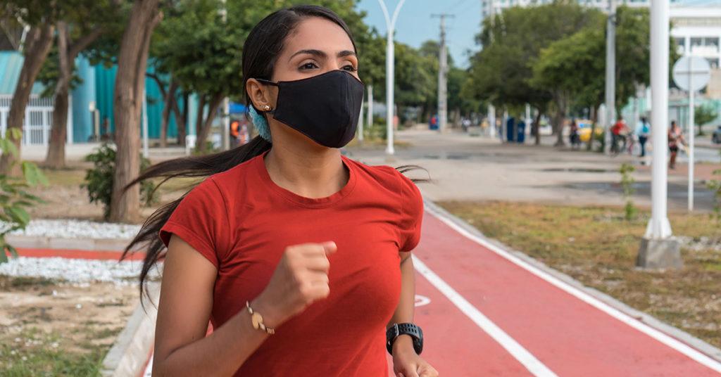 Imagen de cómo hacer un medio maratón virtual en pandemia.