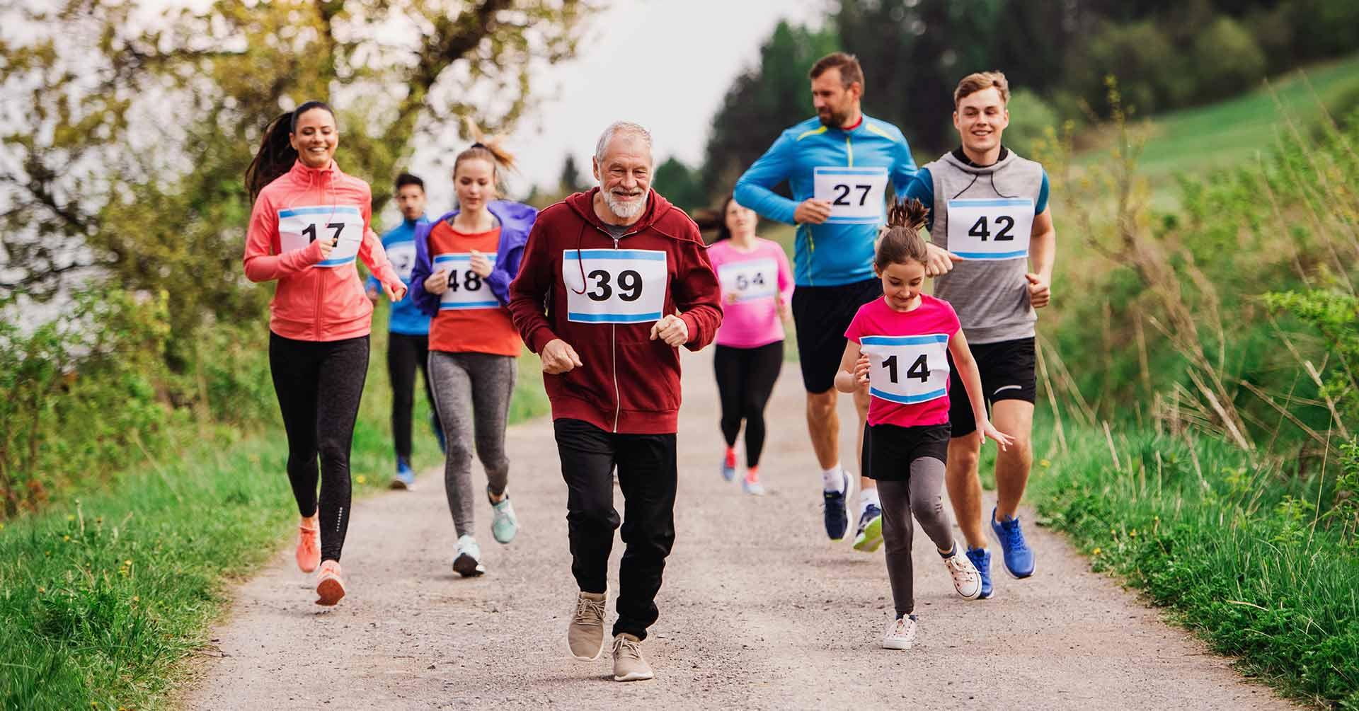 ¿A qué edad se puede correr un medio maratón?