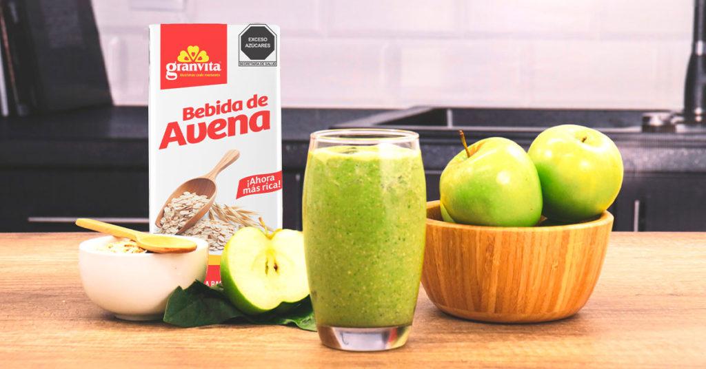 Imagen de recetas con bebida de avena Oat Milk de Granvita.
