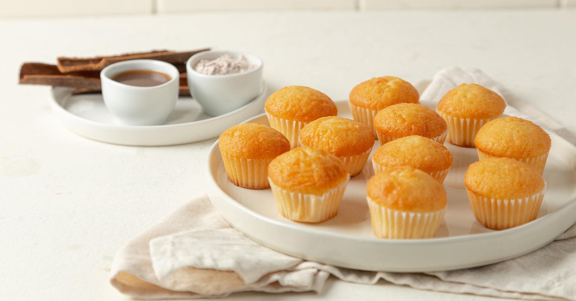Minimuffins de avena con queso
