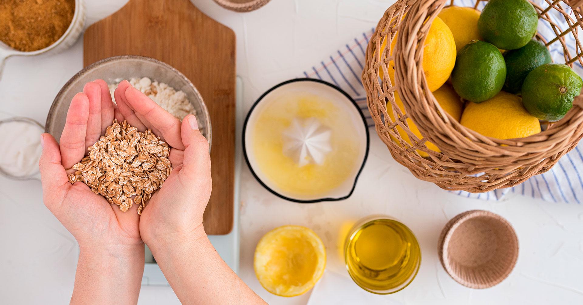 Agua de avena con limón: una bebida con múltiples beneficios para tu día