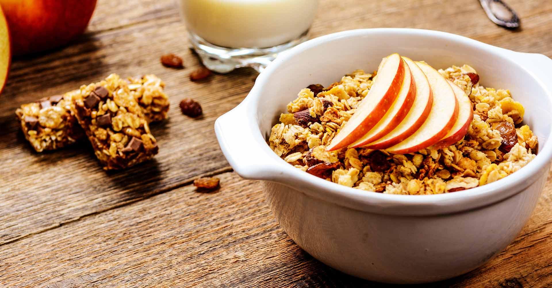 3 recetas con manzana y granola que te encantarán