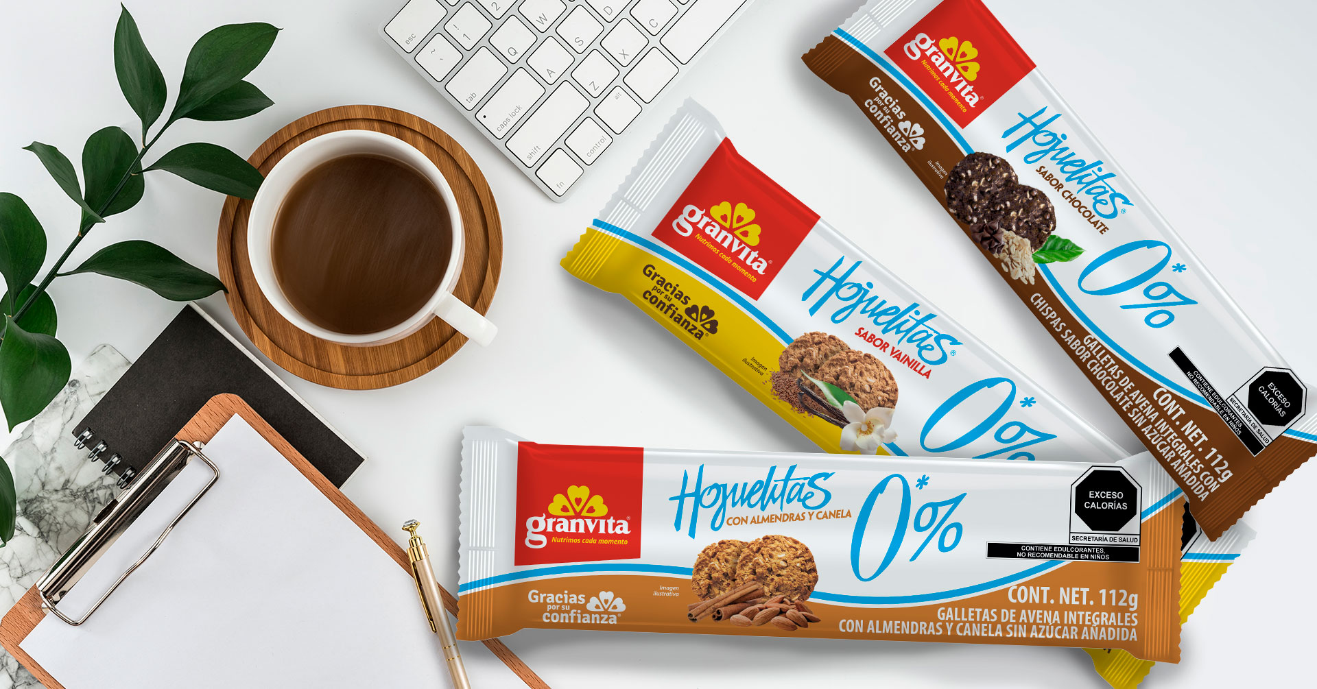 Galletas de avena Hojuelitas 0 %: un snack libre de azúcar que amarás