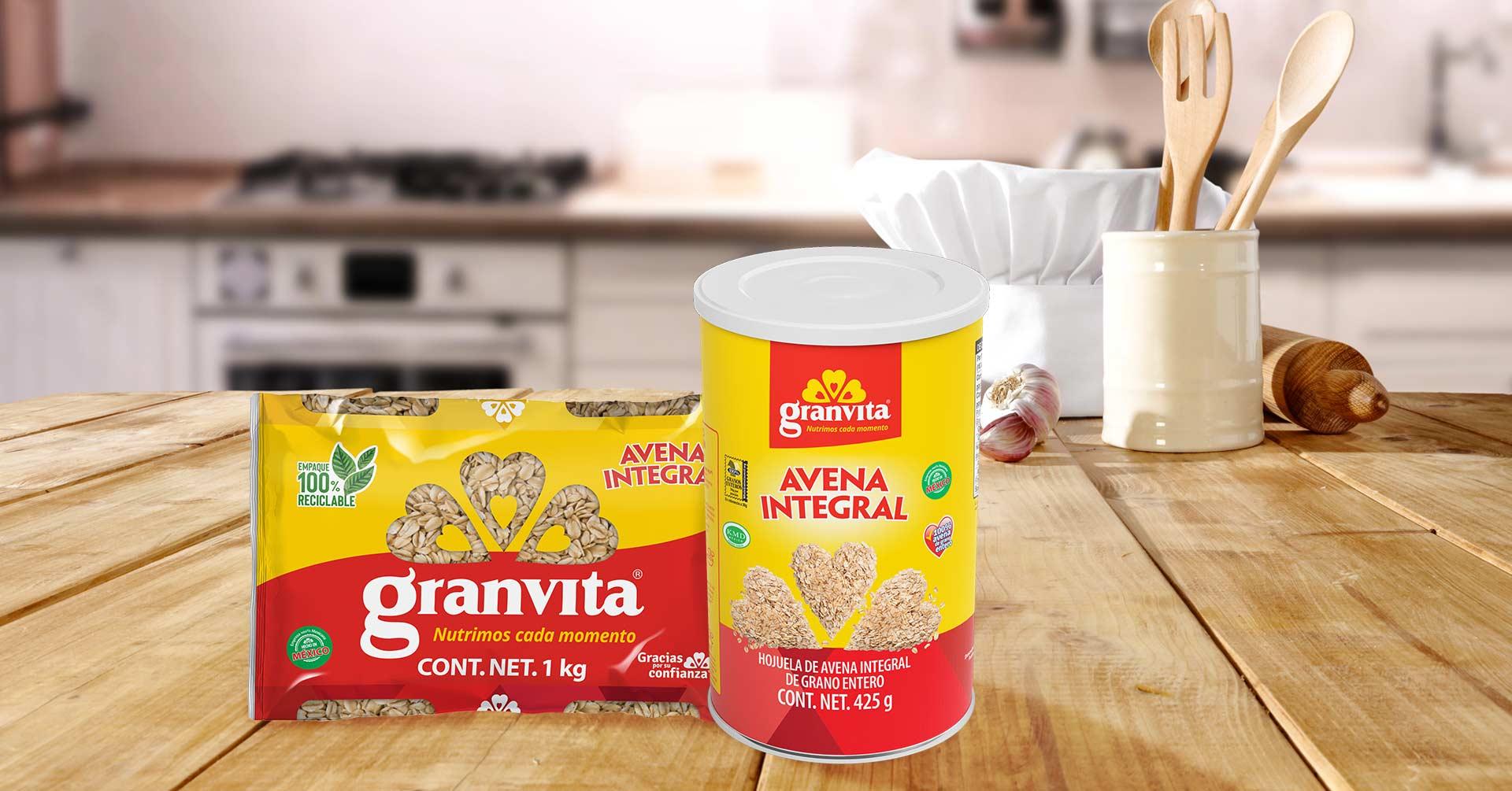 4 recetas con avena Granvita fáciles de preparar